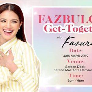 Fazbulous Get-Together with Fazura