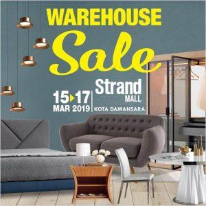 Furniture Warehouse Sale @ Strand Mall