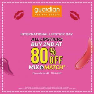 Guardian – International Lipstick Day Promotion