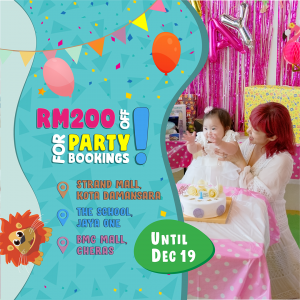 The Kids Party & Playground – Party Room Special Promotion