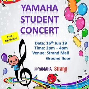 Yamaha Student Concert