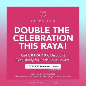 Fazbulous & Fattastic Raya Collection
