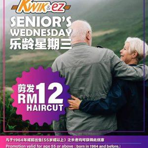 Kwik & Ez – Senior's Wednesday