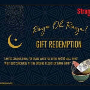 Raya oh Raya! Gift Redemption