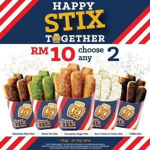 Happy Stix Together by Auntie Anne