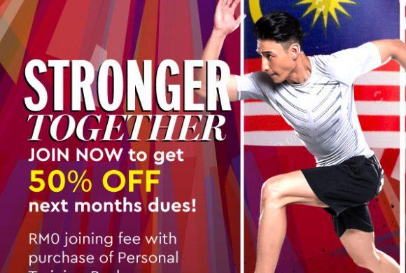 50% Discount on August membership Fee