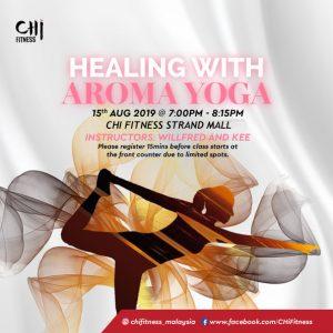 Healing with Aroma Yoga