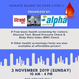 Alpha Health Awareness & Blood Donation