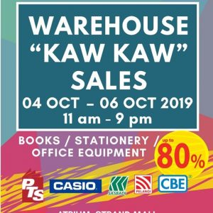 SPP BOOKSTORE KAW KAW SALE!
