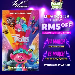 Trolls World Tour Family Friendly Special Screening