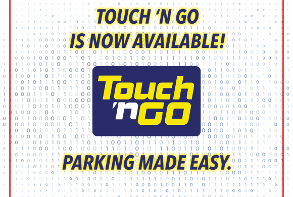 Parking with Touch 'n Go access