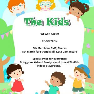 The Kids Reopen!