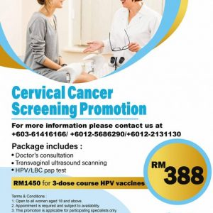 Cervical Cancer Screening Promotion RM 388