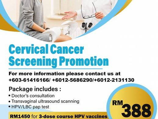Cervical Cancer Screening Promotion RM 388