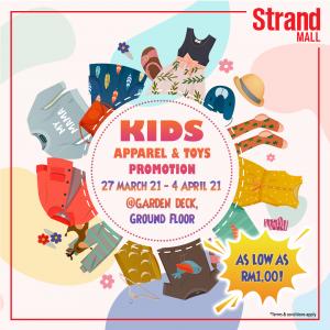 Kids Apparel & Toys Promotion