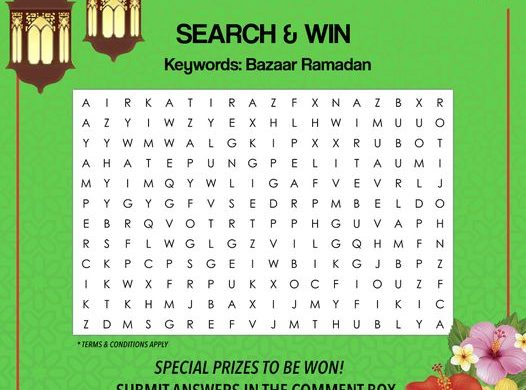 Ramadan Search & Win Contest