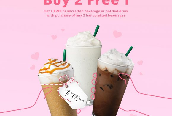 Mother's Day Buy 2 Free 1 @ Starbucks