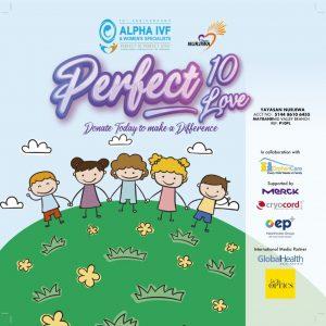 PERFECT 10 PERFECT LOVE DONATE @ ALPHA IVF