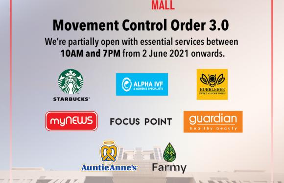 Movement Control Order 3.0