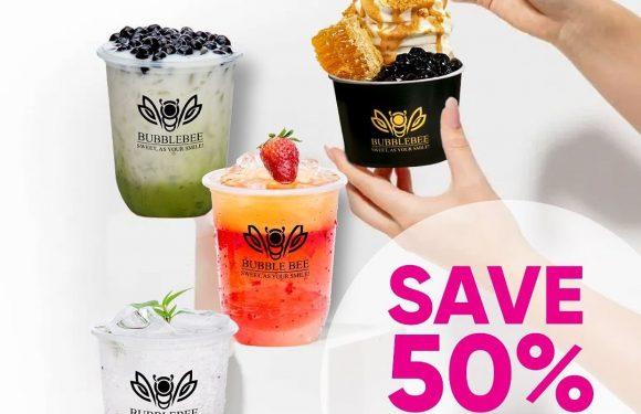 Save 50% @ Bubblebee