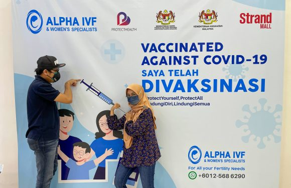 VACCINATED AGAINST COVID-19 @ ALPHA IVF