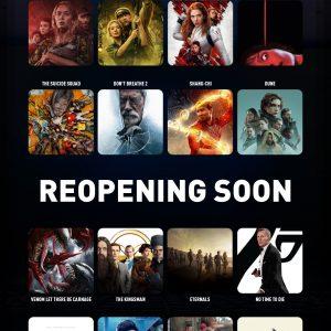 Reopening Soon & TGV Cinemas