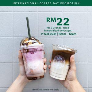 International Coffee Day With Starbucks